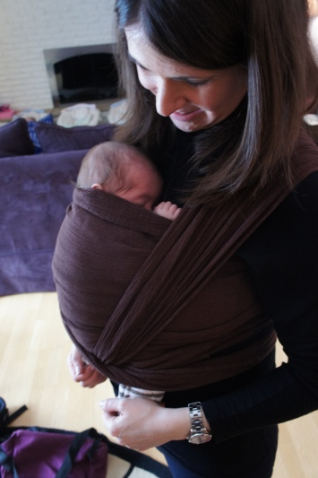 Babywearing creates such a  wonderful opportunity for one on one closeness and special time.