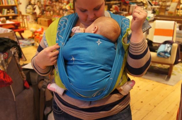 Pavlik Harness Closeathand Babywearing Service An Infant